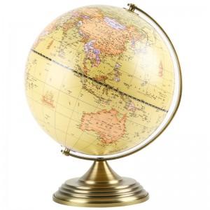 晨光(M&G)文具20cm仿古地球仪 金属固定架 教学研究办公桌面摆件 单个装ASD99846