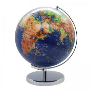 晨光(M&G)文具25cm/LED立体浮雕地球仪 弓形固定架 教学研究办公桌面摆件 单个装ASD99874
