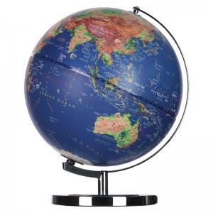 晨光(M&G)文具30cm/LED立体浮雕地球仪 金属弓形固定架 高档教学研究办公桌面摆件 单个装ASD99875