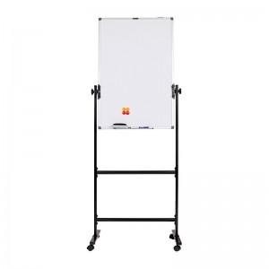 晨光(M&G)标准H型支架式白板带架可移动可翻转白板双面磁性办公会议写字板 单个带包装 90*60厘米ADBN6404