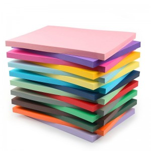 沪兴A4彩色卡纸100张硬白卡纸4K黑色4开8K牛皮纸A3封面纸 厚彩纸A4 儿童手工纸 180克A4(混色100张)