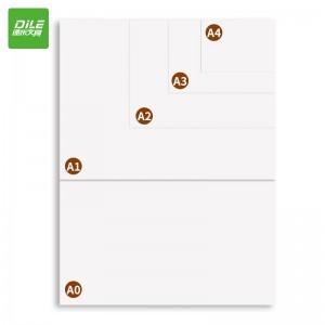 递乐 工程制图纸加厚A3画纸绘图纸学生手抄报手绘画建筑设计纸机械快题画图原稿纸工图图纸 6512