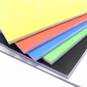 千水星 低密度PVC板 大张彩色KT板泡沫板手工DIY沙盘建筑房屋模型拼装材料喷绘写真展板广告板 6张 白色(60*80厘米)
