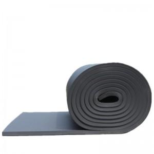美拉五金 保温棉 高密度橡塑板保温隔热隔音阻燃海绵墙体 厚10mm无背胶 1米*1米 定制