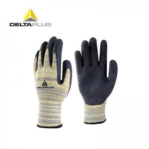 代尔塔 TAEKI劳保工作手套 5级防切割防水防高温250度耐磨抗撕裂 塑料电子实验室工业 混合色#9