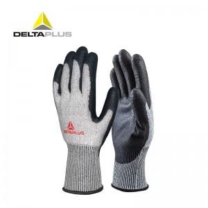 代尔塔 3副装防割劳保工作手套 VENICUT44(4级耐磨4级防割)