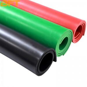 贝傅特 配电室绝缘垫 配电房地垫 绝缘橡胶板 高压绝缘地垫 黑色橡皮板 红色绝缘地毯 500*500*2mm黑色