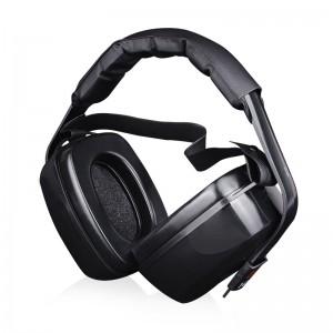 3M 1427经济型隔音耳罩 睡眠 工业噪声学习降噪耳罩1副装 NRR27dB高度可调节 多点佩带