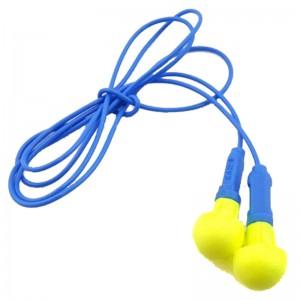 3M 耳塞 318-1005 舒适型 免揉搓 泡棉带线 防噪音 睡眠耳塞 yzlp 1付装