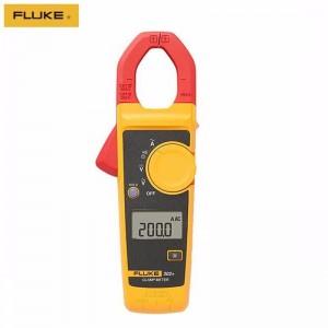 福禄克(FLUKE)F302+ F303 F305 钳形万用表高精度数字交流电流钳表 F302+ 【测交流电流400A】