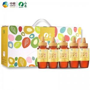 中粮山萃优组蜜蜂蜜礼盒纯正蜂蜜福利礼品团购 优组蜜套装B