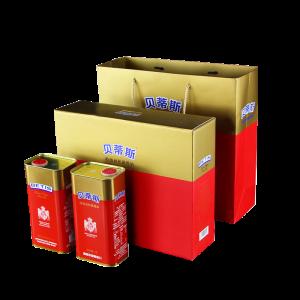 中粮·橄榄油系列 贝蒂斯特级初榨橄榄油1L双支礼盒