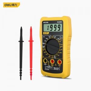 得力(deli) 自动量程数显万用表多用表电流表600V DL334002