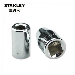 史丹利(Stanley)订制6.3MM 10MM 12.5MM旋具转接头 3/8转化1/4旋具头 86-250-1-22(付款后5-10天发货)