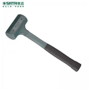 世达(SATA)防震橡皮锤45mm 钢管柄橡皮锤子橡胶锤子榔头安装胶锤 92902 现货