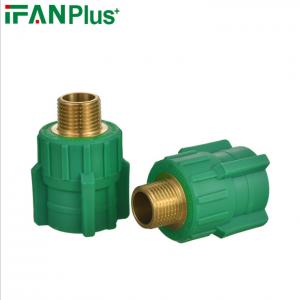 PPR接头外丝管件铜制接头外牙直接4分管件 水管接头热熔加厚快接