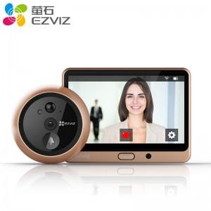 萤石(EZVIZ)猫眼DP1智能猫眼 电子猫眼 可视门铃 防盗门门铃 远程通话 手机APP