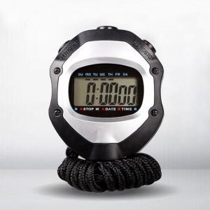 秒表计时器 学生 跑步秒表 运动手表 体育跑步田径训练跑表教练 2道