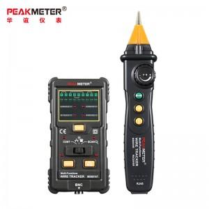 华谊(PEAKMETER)MS6816多功能网络寻线仪抗干扰带电网线电话线断点测线查线器