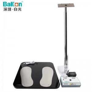 BaKon白光人体静电综合测试仪ESD双脚电阻静电检测仪BK698A