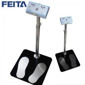 FEITA 人体静电综合测试仪手环静电鞋测试仪 单脚/双脚测量防静电工鞋/静电手环检测仪 双脚人体综合测试仪(普通插电)