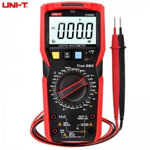 优利德 数字万用表 万能表全保护电工防烧数显多用电表 UT89X 电流表万能表 仪器仪表掌上型多用表 UT-89XD(LED测量+NCV测量)