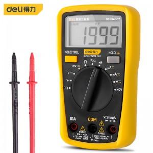 得力(deli) 数显万用表多用表电流表3-1/2位600V DL8490