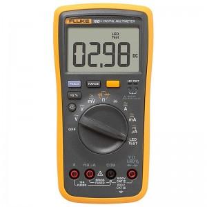 福禄克(FLUKE)18B+数字万用表 掌上型多用表自动量程发光LED测试仪器仪表
