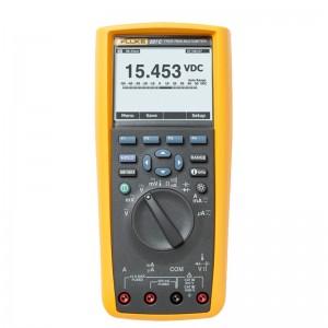 福禄克(FLUKE)F287C 真有效值工业用电子记录万用表 1年维保