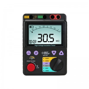 希玛AR3126 高压兆欧表 数字摇表 欧姆表便捷式绝缘电阻测试仪
