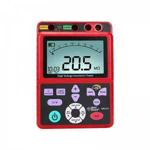 希玛AR3127 高压兆欧表 数字摇表 欧姆表 便捷式绝缘电阻测试仪
