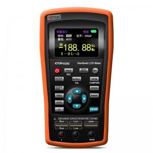 胜利仪器(VICTOR)手持式LCR数字电桥 VC4080 高精度测量电阻电感电容表 LCR测试仪