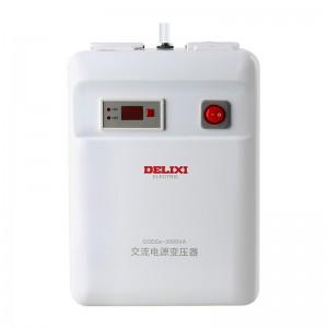德力西电气(DELIXI ELECTRIC)变压器220V转110V/100V美日进口电器电源电压转换器 3000W 变压器