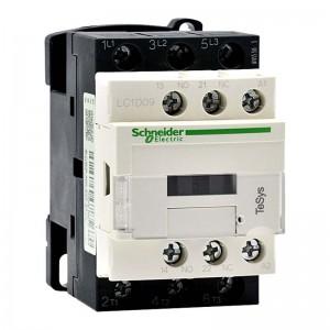 施耐德电气 TeSys LC1D国产 3P 9A 1NO+1NC 交流接触器 LC1D09M7C 220VAC