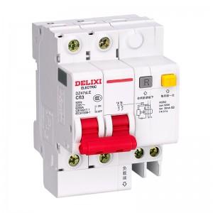 德力西电气(DELIXI ELECTRIC)断路器 空气开关 家用空开漏电保护断路器总闸漏保DZ47sLE 2P C  63A