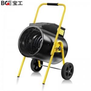 宝工(BGE)工业暖风机取暖器热风机大功率电暖器电暖气电暖风BG-C15/3-19 15KW 380V