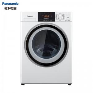 松下(Panasonic)滚筒洗衣机全自动8公斤  羽绒羊毛洗 节能静音XQG80-N80WJ