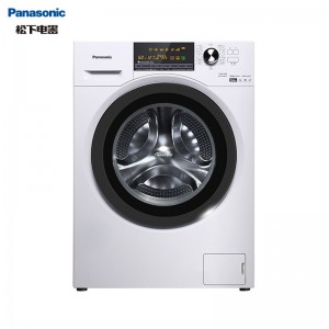 松下(Panasonic)滚筒洗衣机全自动10公斤 洗烘一体机 智能烘干 除螨除菌 超薄机身XQG100-EGJCP
