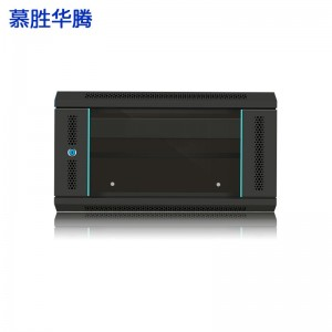 慕胜华腾MS.6406 6u网络机柜墙柜 交换机机柜弱电监控加厚钢化玻璃小型机柜