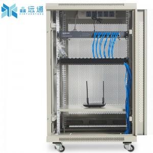 1.2米1米机柜网络18u22u42u交换机柜功放音响监控弱电脑1.6米家用小标准服务器机柜1.8米 注意机柜要大于设备深度15cm,否则放不下