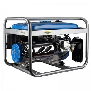 鸣固 3000W汽油发电机220v单相家用发电机 3000W手启动+烧汽油