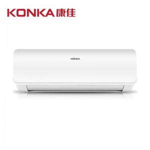 康佳(KONKA)京品家电1.5匹 挂机 快速冷暖 定速空调(纯铜管) 隐藏显示屏LED 静音省电KFR-35GW/DKG02-E3