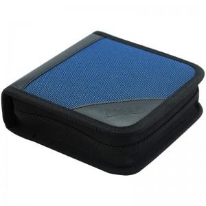 铭大金碟(MNDA)CD/DVD 光盘专用 帆布光盘包 可装40片 车载cd包 收纳包