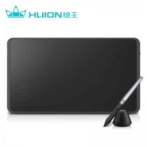 绘王H640P 数位板手绘板电脑画板绘图板写字输入手写板电子绘画板 便捷式超薄 无源升级  6大快捷键