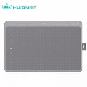 绘王(HUION)手写板 HS611数位板 绘画板 绘图板 网课教学工具 可连手机 深空灰