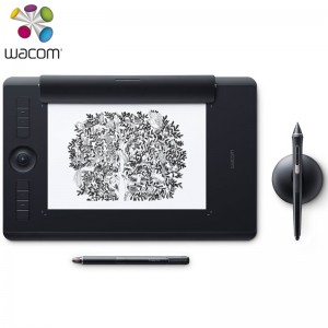 Wacom和冠数位板 手绘板 手写板 写字板 绘画板 绘图板 电子绘板 电脑绘图板 无线蓝牙触控版 PTH-860/K1-F