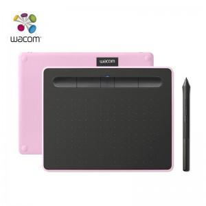 Wacom和冠数位板 手绘板 手写板 写字板 绘画板 绘图板 电子绘板 电脑绘图板 无线蓝牙 CTL-6100WL 樱花粉