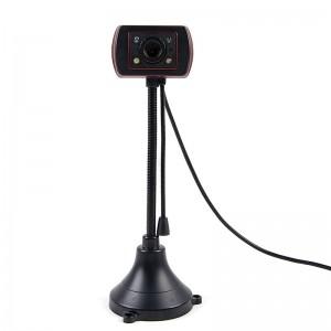 灵蛇(LINGSHE)高清支架摄像头 视频会议摄像头 电脑台式USB摄像头 家用摄像头S620