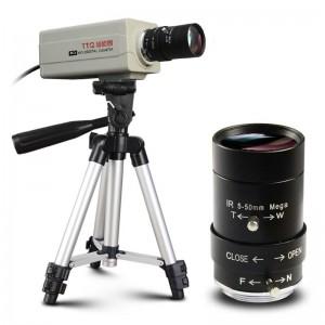 甜甜圈(TTQ)J2摄像头台式机 笔记本电脑高清USB会议教学摄像机监控广角超清1080P