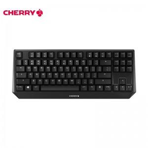 樱桃(Cherry)MX1.0 TKL G80-3810LYAEU-2 机械键盘 有线键盘 游戏键盘  87键机械键盘 黑色 红轴